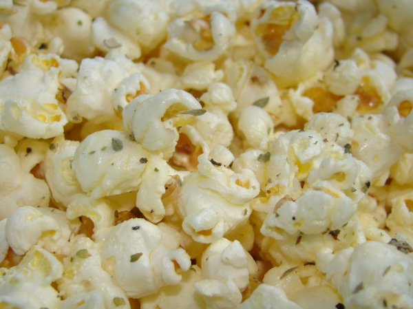 how to make popcorn with butter instead of oil