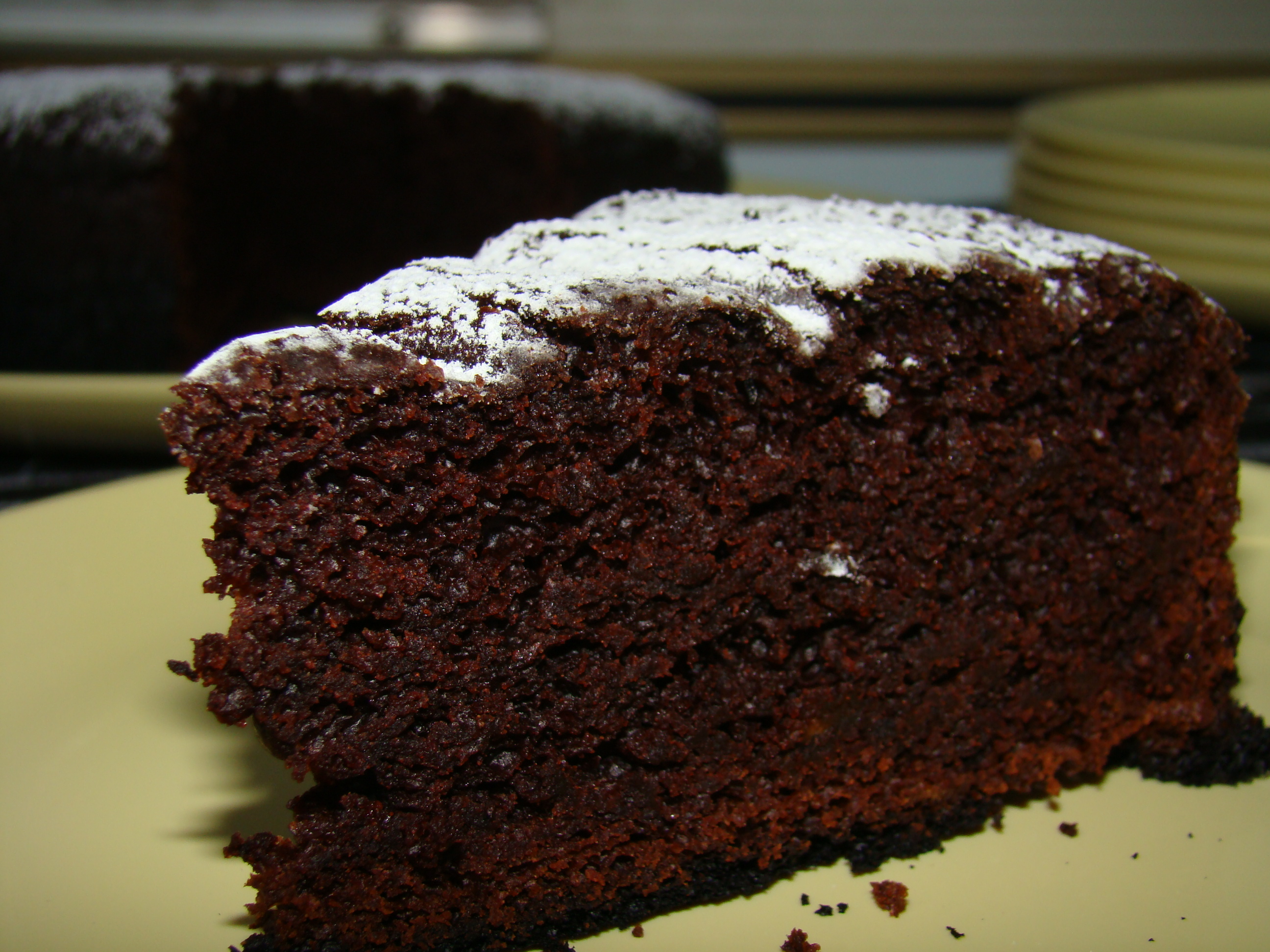 Best Chocolate Cake With Vinegar And Coffee