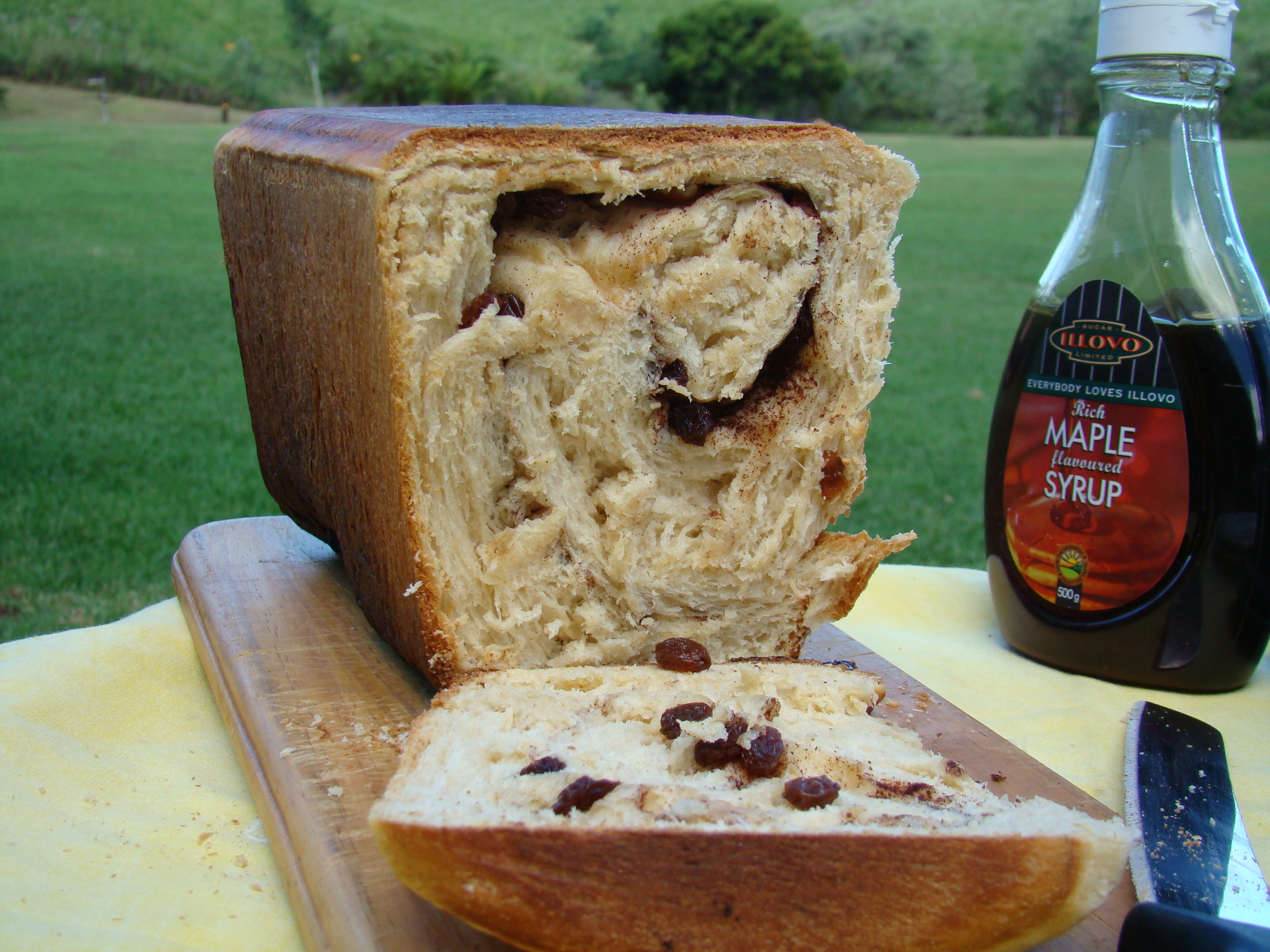 Sweet Raisin And Almond Bread